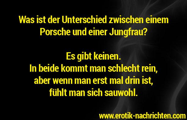 Unterschied zwischen Porsche und Jungfrau